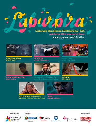 """LABURBIRA. Euskarazko Film Laburren emanaldia, """"Euskal Astea""""ren baitan"""
