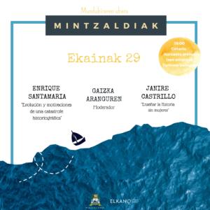 """Ciclo: """"Elkano ala Elkanoak: historia, memoria eta kontaerak"""" (II)"""