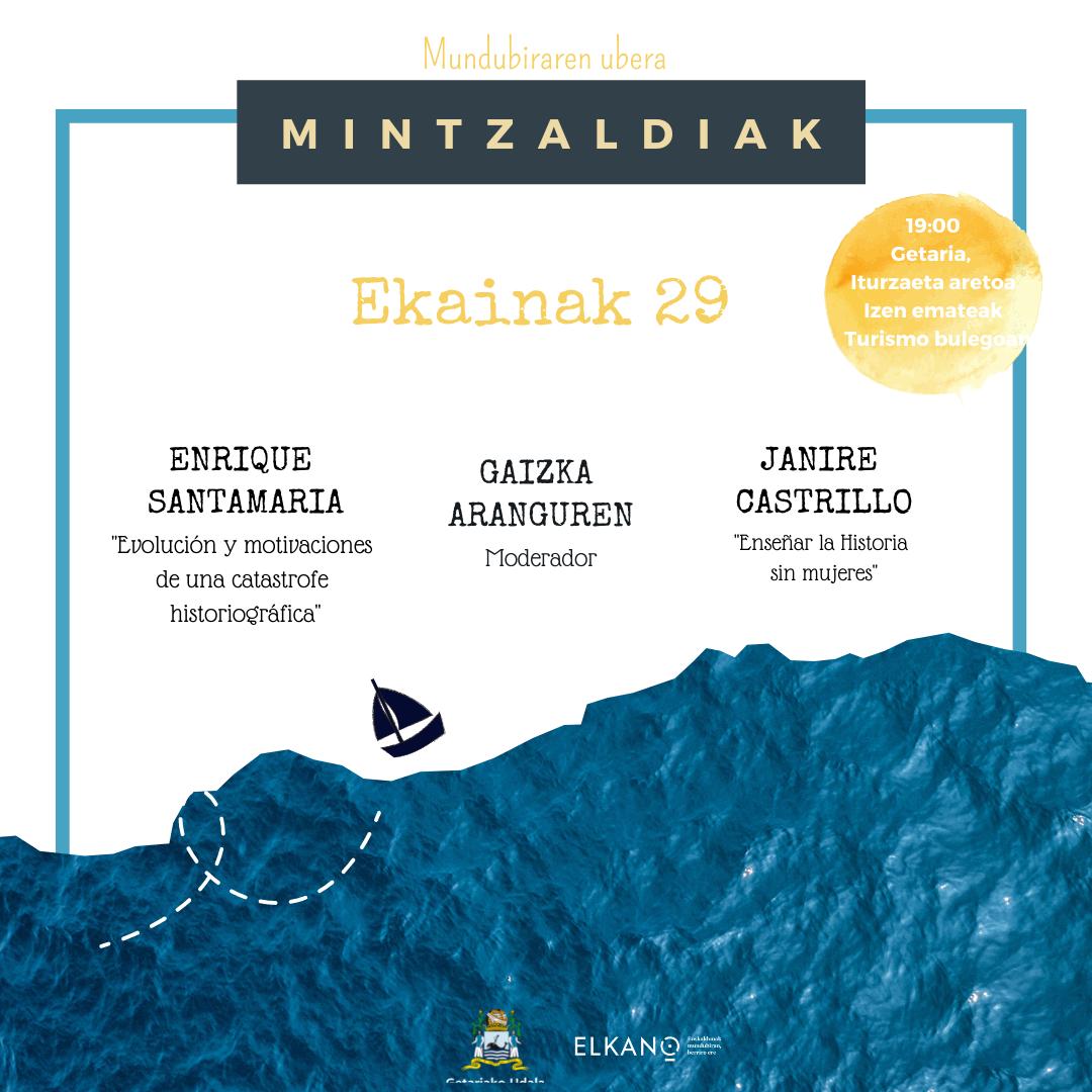 MINTZALDIAK (II) Elkano ala Elkanoak: historia, memoria eta kontaerak